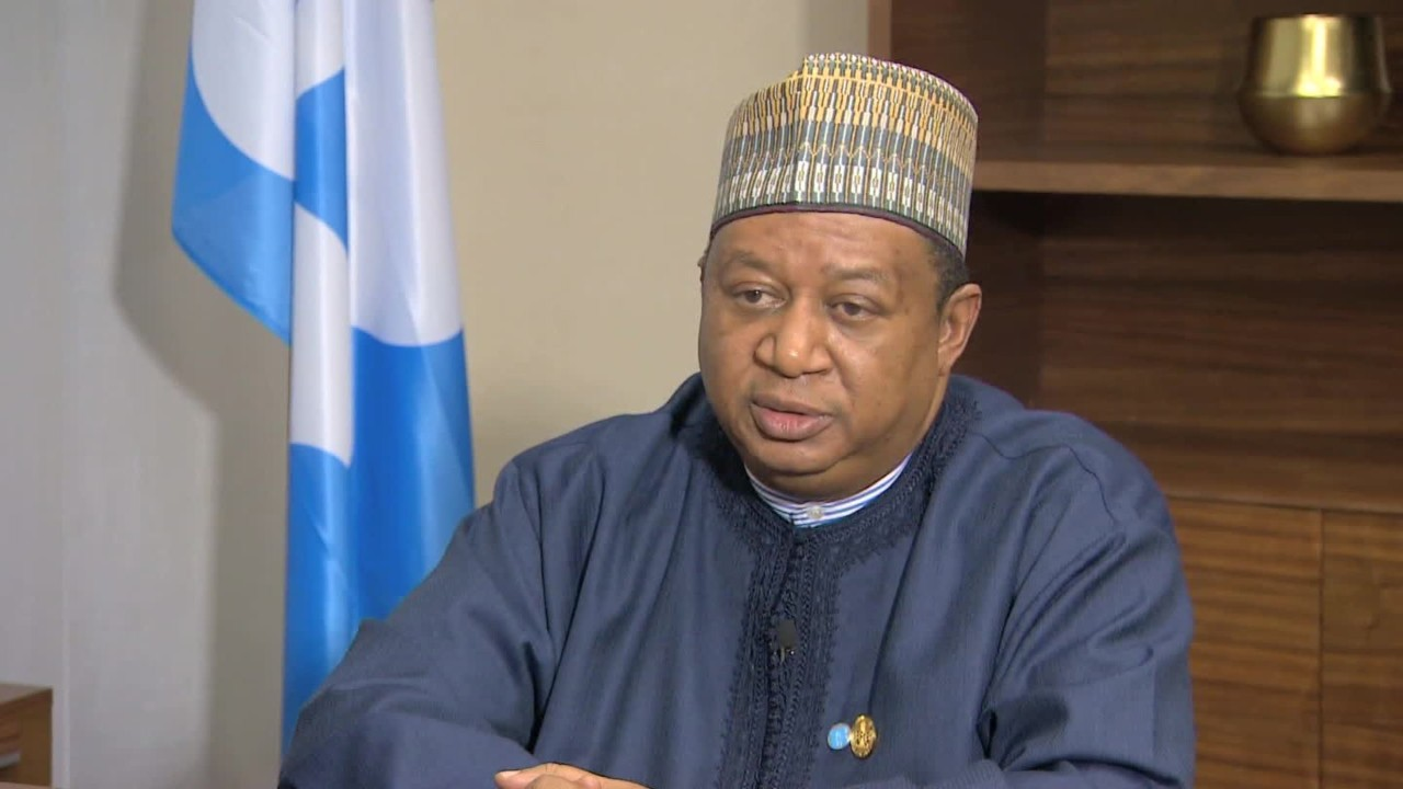 OPEC's Barkindo says excess oil in OECD economies dropped by 268 mb in 2017