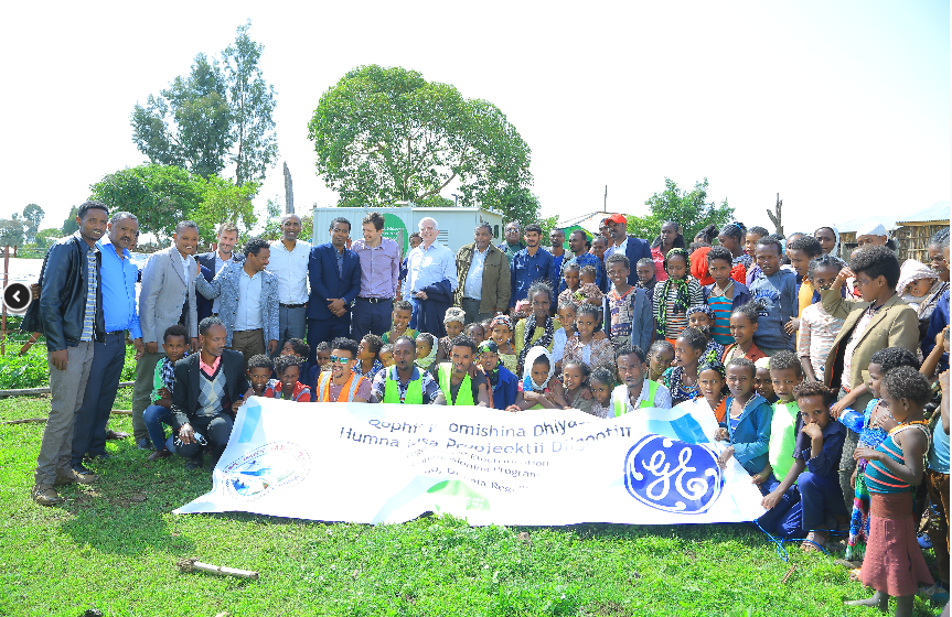 GE Commissions Hybrid Distributed Power Unit for Digo Village